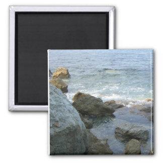 Rocks 2 Inch Square Magnet