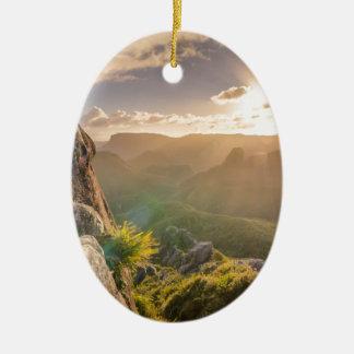 rocks-801 ceramic ornament