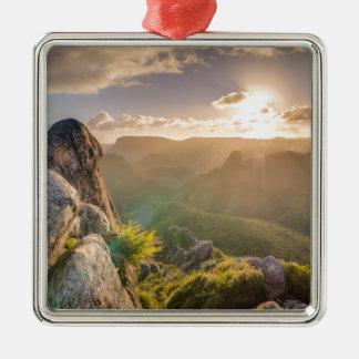 rocks-801 metal ornament