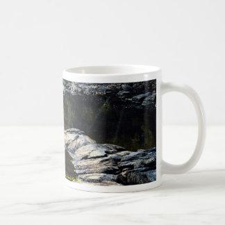 Rocks and boulders, York River, Ontario, Canada Coffee Mug