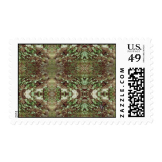 Rocks and Leaves Stamp