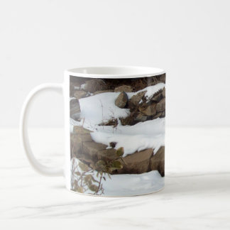 Rocks and Snow Classic White Coffee Mug