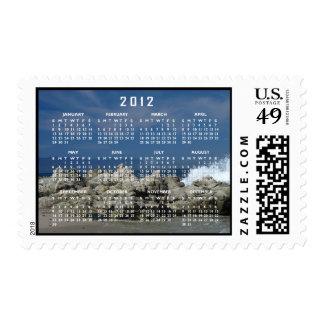 Rocks and Splashes; 2012 Calendar Postage Stamp