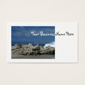 Rocks and Splashes Business Card