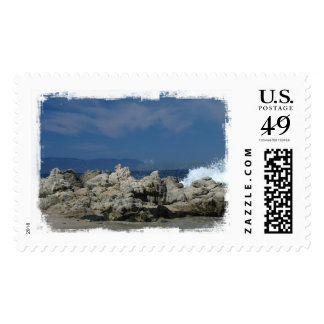 Rocks and Splashes; No Text Stamp