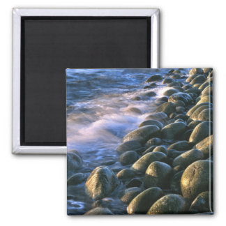 Rocks and Waves Square Magnet