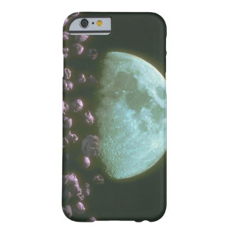 Rocks around Moon. (rocks_Space Scenes Barely There iPhone 6 Case