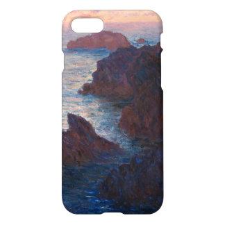 Rocks at Belle-lle, Port-Domois by Claude Monet iPhone 7 Case