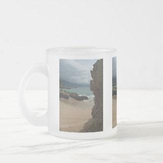 Rocks at Conchas Chinas 10 Oz Frosted Glass Coffee Mug