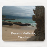 Rocks at Conchas Chinas; Puerto Vallarta, Mexico Mouse Pads