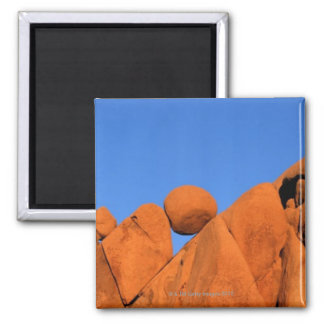 Rocks at Joshua Tree National Park Magnet