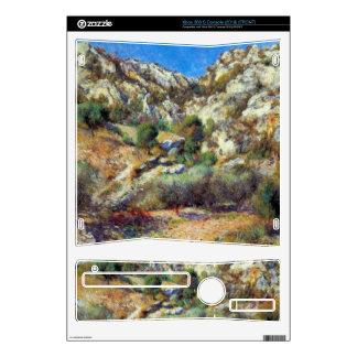 Rocks at L'Estage by Pierre Renoir Xbox 360 S Skins