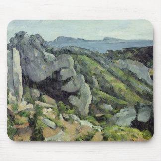 Rocks at L'Estaque, 1879-82 Mouse Pad