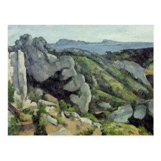 Rocks at L'Estaque, 1879-82 Postcard