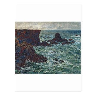 Rocks at Port-Coton, the Lion (1886) Postcard