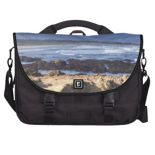 Rocks Before Beach Laptop Bags