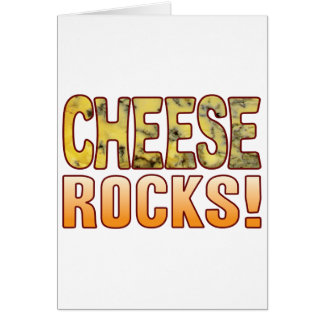 Rocks Blue Cheese Card