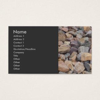 Rocks Business Card