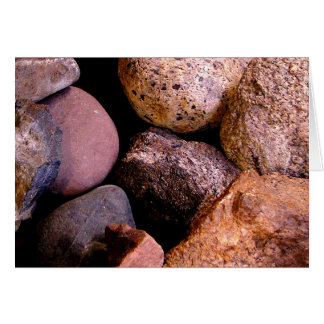 Rocks Card