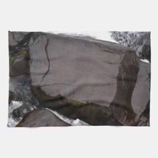 ROCKS CATARACT GORGE TASMANIA AUSTRALIA HAND TOWEL