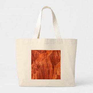 Rocks Cathedral Gorge State Nevada Jumbo Tote Bag