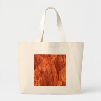 Rocks Cathedral Gorge State Nevada Large Tote Bag
