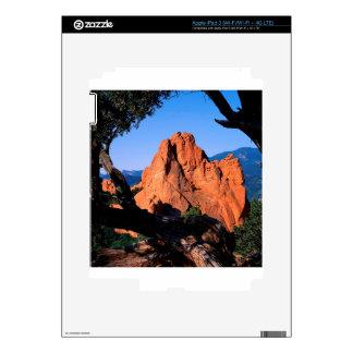 Rocks Garden Gods Colorado iPad 3 Decals