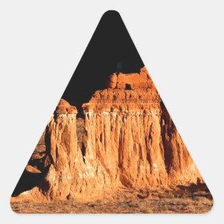 Rocks Goblin Valley Utah Triangle Sticker