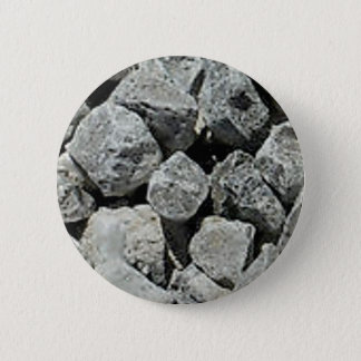rocks ground stones pinback button