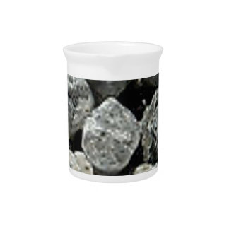 rocks ground stones pitcher