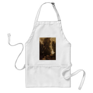 Rocks in a Glade by Camille Corot Aprons