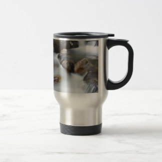 Rocks in a river mug