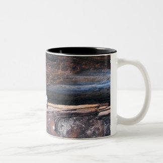 Rocks In Log Two-Tone Coffee Mug