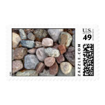 Rocks in Nature Postage Stamps