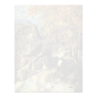 Rocks In The Forest Of Fontainebleau Letterhead