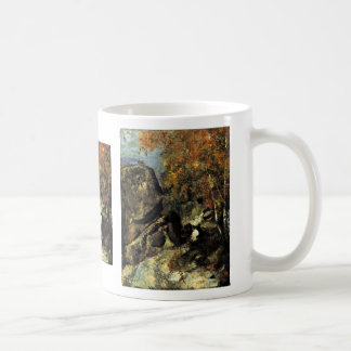 Rocks In The Forest Of Fontainebleau Coffee Mug