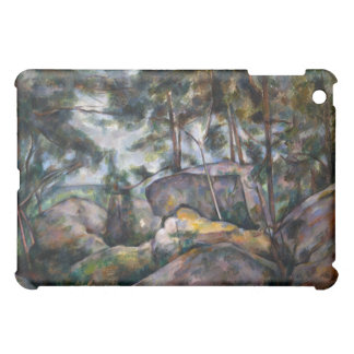 Rocks in the Forest - Paul Cézanne iPad Mini Case