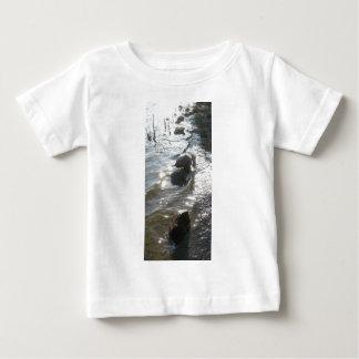 Rocks In The River By Bernadette Sebastiani Baby T-Shirt