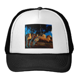 Rocks Land By The Light Moon Hats