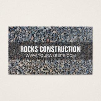 Rocks Landscape Construction Business Card