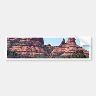 Rocks near Sedona, Arizona Bumper Sticker