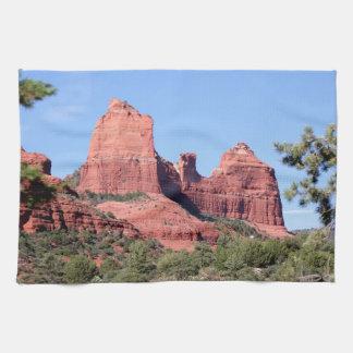 Rocks near Sedona, Arizona Kitchen Towel