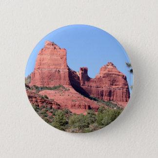 Rocks near Sedona, Arizona Pinback Button