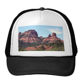 Rocks near Sedona, Arizona Trucker Hat