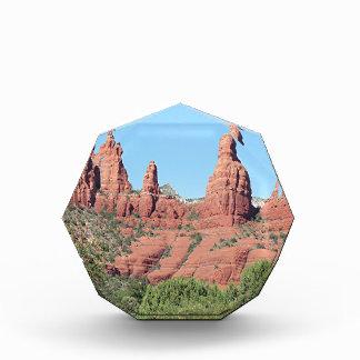 Rocks near Sedona, Arizona,USA 2 Acrylic Award