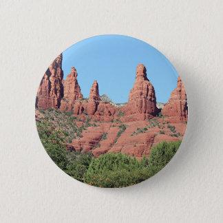 Rocks near Sedona, Arizona,USA 2 Pinback Button