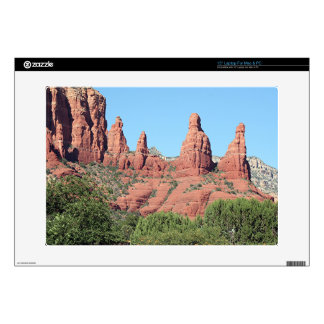 "Rocks near Sedona, Arizona,USA 2 Skins For 15"" Laptops"