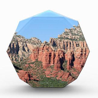 Rocks near Sedona, Arizona,USA 3 Acrylic Award