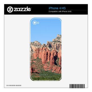 Rocks near Sedona, Arizona,USA 3 Decals For The iPhone 4