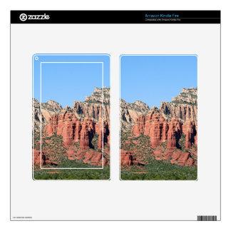 Rocks near Sedona, Arizona,USA 3 Kindle Fire Skins